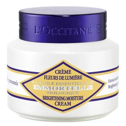 l'occitane immortelle creme fleurs de lumiere crema facial iluminadora 50ml