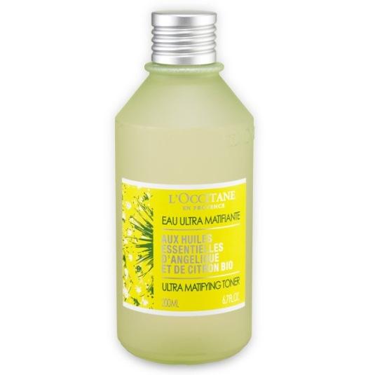 l'occitane angelica lemon tonico ultra matificante 200ml