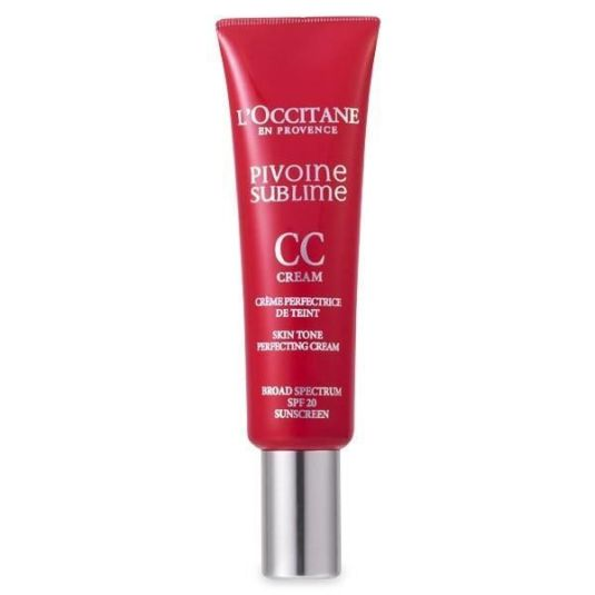 l'occitane pivoine sublime crema cc con color spf20