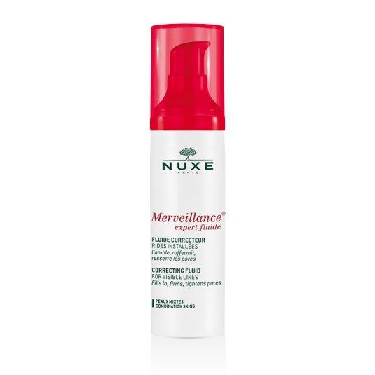nuxe merveillance expert fluido corrector arrugas pieles mixtas 50ml