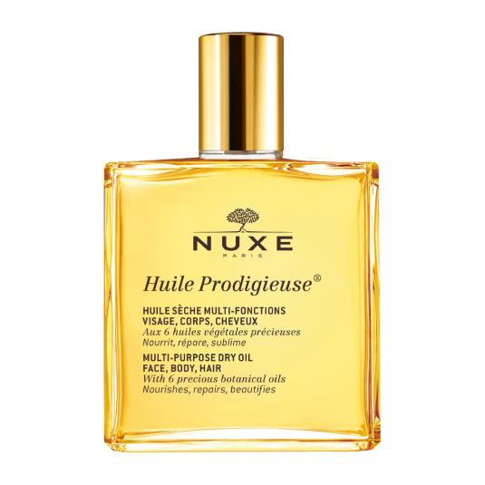 nuxe huile prodigieuse aceite seco hidratante facial y corporal 50ml