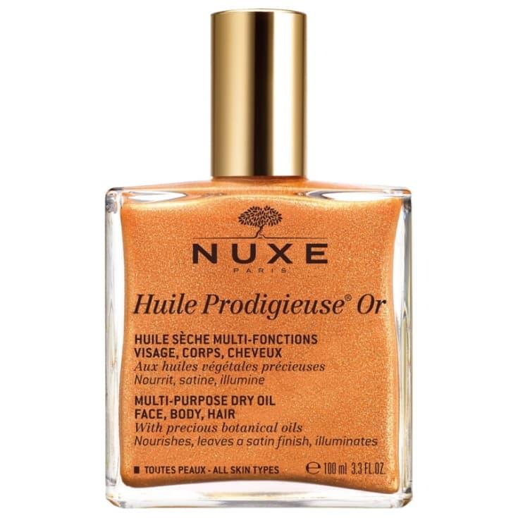 nuxe huile prodigieuse or aceite prodigioso oro