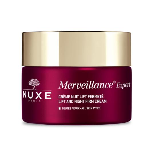 nuxe merveillance expert crema noche lift&firmeza antiedad 50ml