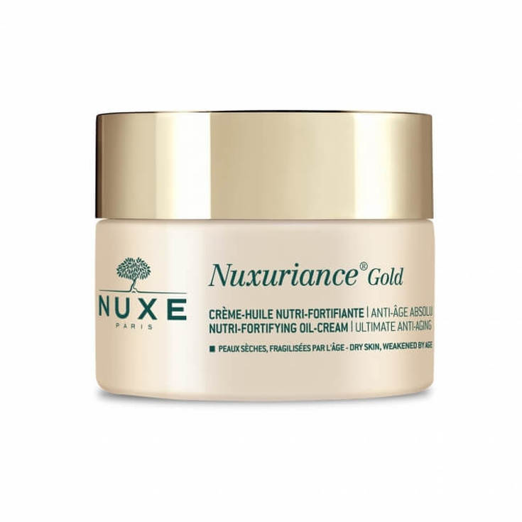 nuxe nuxuriance gold aceite en crema fortificante 50ml