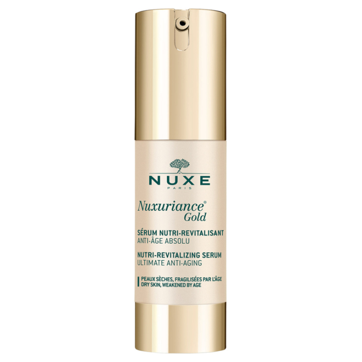 nuxe nuxuriance gold serum nutri-revitalizante 30ml