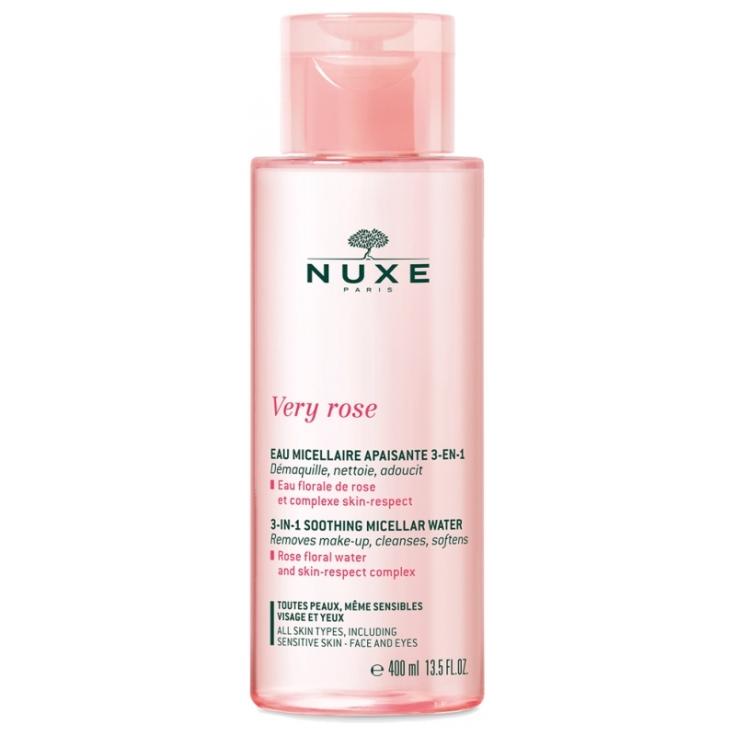 nuxe very rose agua micelar calmante 3en1 400ml