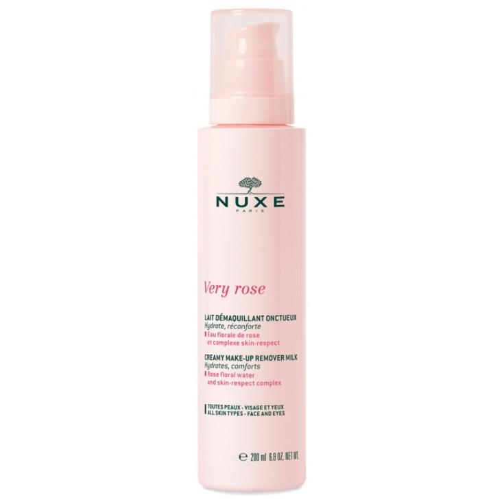 nuxe very rose leche desmaquillante cremosa 200ml