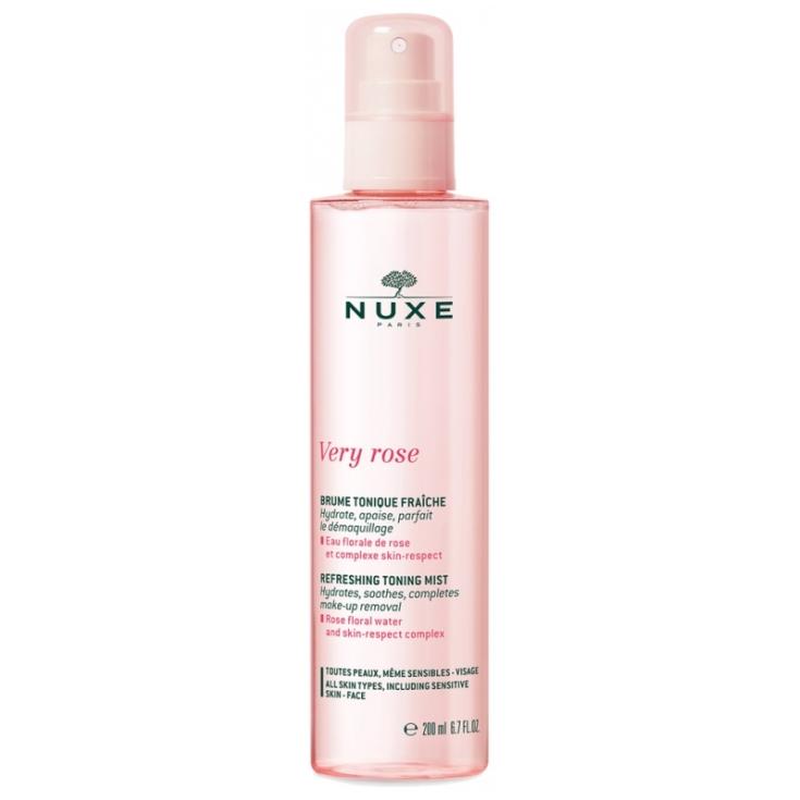 nuxe very rose bruma tonificante refrescante 200ml