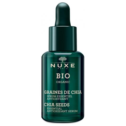 nuxe bio organic serum esencial antioxidante semilla chia 30ml