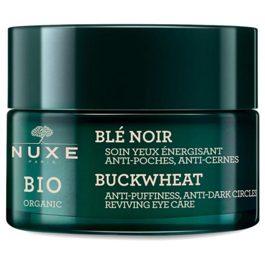 nuxe bio organic bio tratamiento contorno de ojos energizante de trigo 15ml