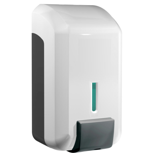 jvd cleanline dosificador de jabon gel blanco manual 700ml