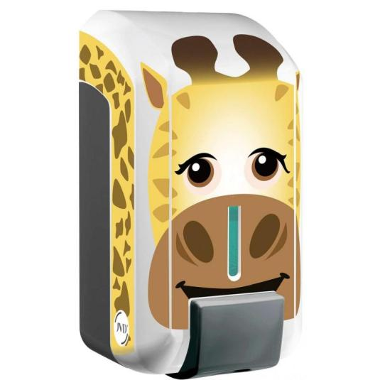 jvd cleanline dosificador de jabon infantil jirafa manual 700ml