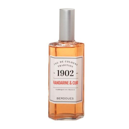 berdoues 1902 mandarine & cuir eau de cologne 125ml