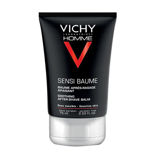 vichy homme mineral sensi-baume bálsamo after shave 75ml