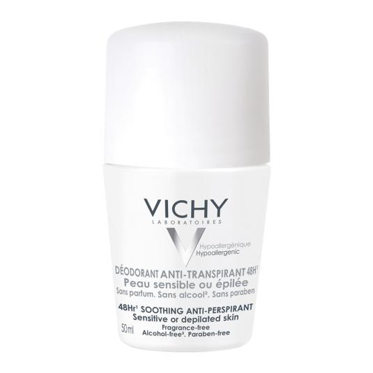 vichy desodorante anti-transpirante 48h piel sensible