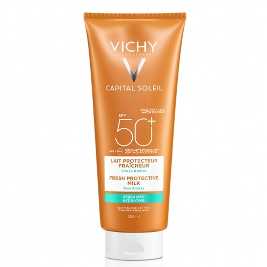 vichy idéal soleil leche protectora corporal y facial spf50+ 300ml