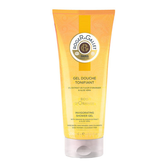roger & gallet bois d'orange gel ducha tonifcante 200ml
