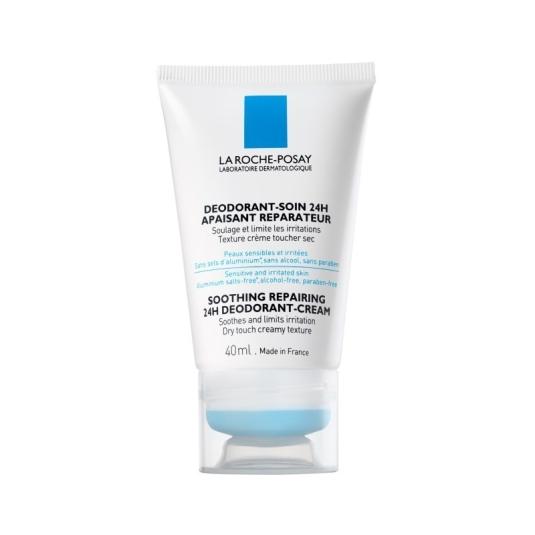 la roche-posay crema desodorante reparadora 24h 40ml