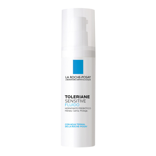 la roche-posay toleriane sensitive fluido hidratante facial prebiotico 40ml