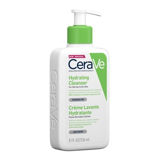 cerave crema limpiadora hidratante piel normal a seca 236ml
