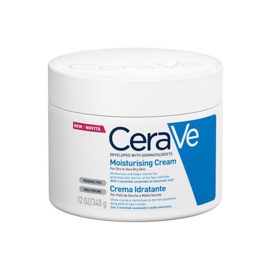 cerave crema hidratante corporal piel seca-muy seca 340ml