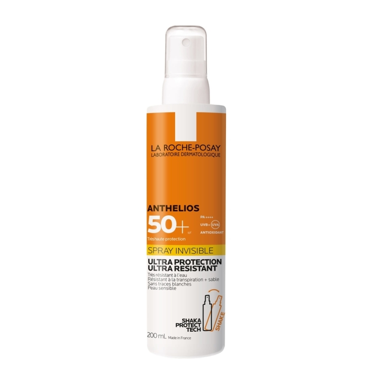 la roche posay anthelios spray invisible spf50+ 200ml