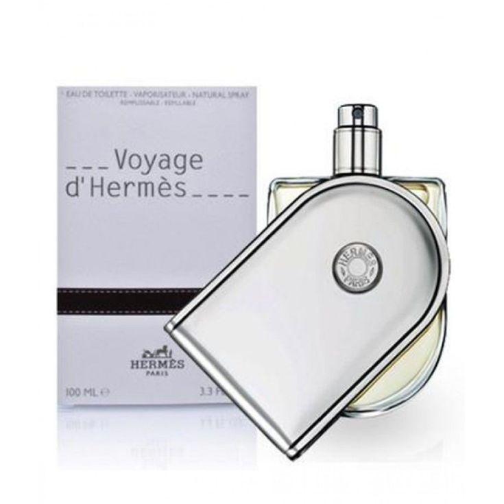 hermès voyage d'hermès eau de toilette recargable unisex 100ml