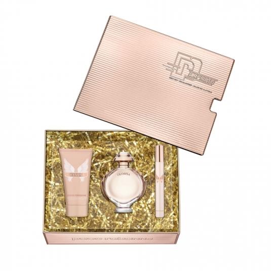 paco rabanne olympea eau de parfum cofre regalo 3 piezas