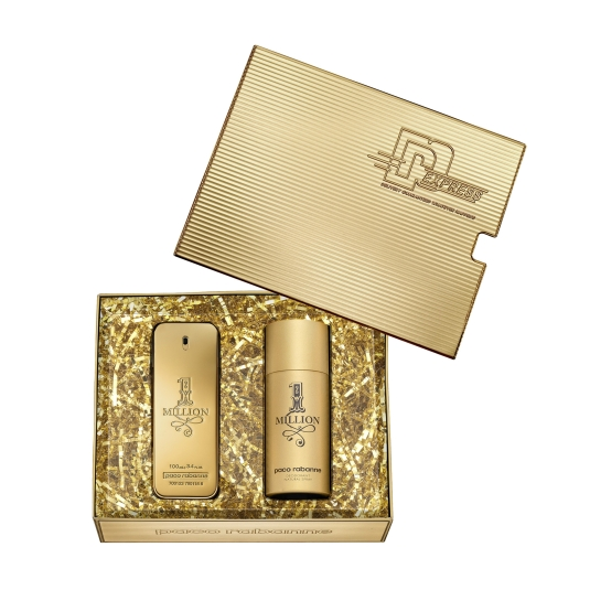 paco rabanne 1 million eau de toilette cofre regalo piezas