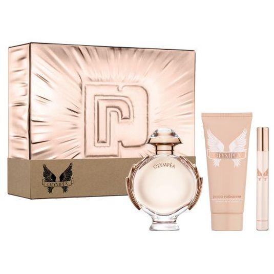 paco rabanne olympea eau de parfum 80ml cofre 3 piezas