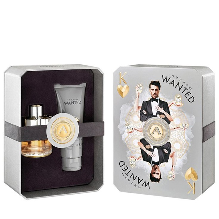 azzaro wanted eau de toilette 50ml cofre 2 piezas