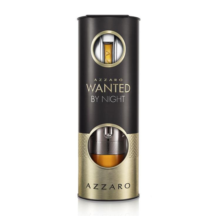 azzaro wanted by night eau de parfum 100ml cofre 2 piezas