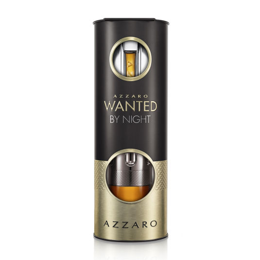 azzaro wanted by night eau de parfum 100ml cofre 2 piezas