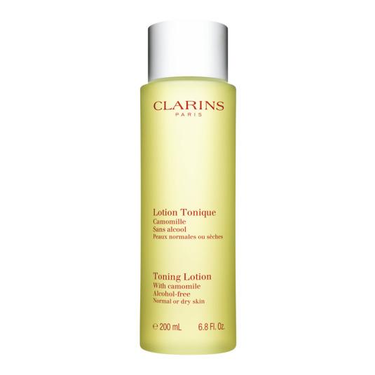 clarins loción tónica piel seca 200ml