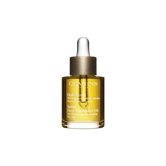 clarins aceite de sándalo pieles secas o enrojecidas 30ml