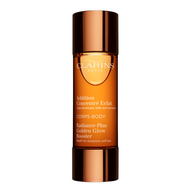 clarins radiance-plus golden autobronceador concentrado corporal extra luminosidad 30ml