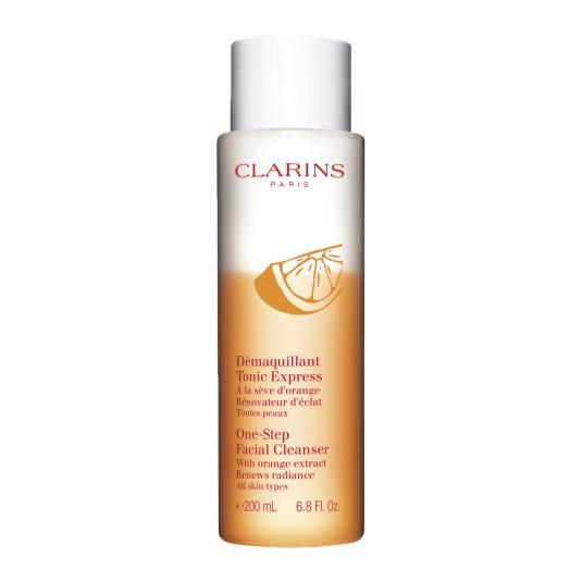 clarins exprés tónico desmaquillante todo tipo de pieles 200ml