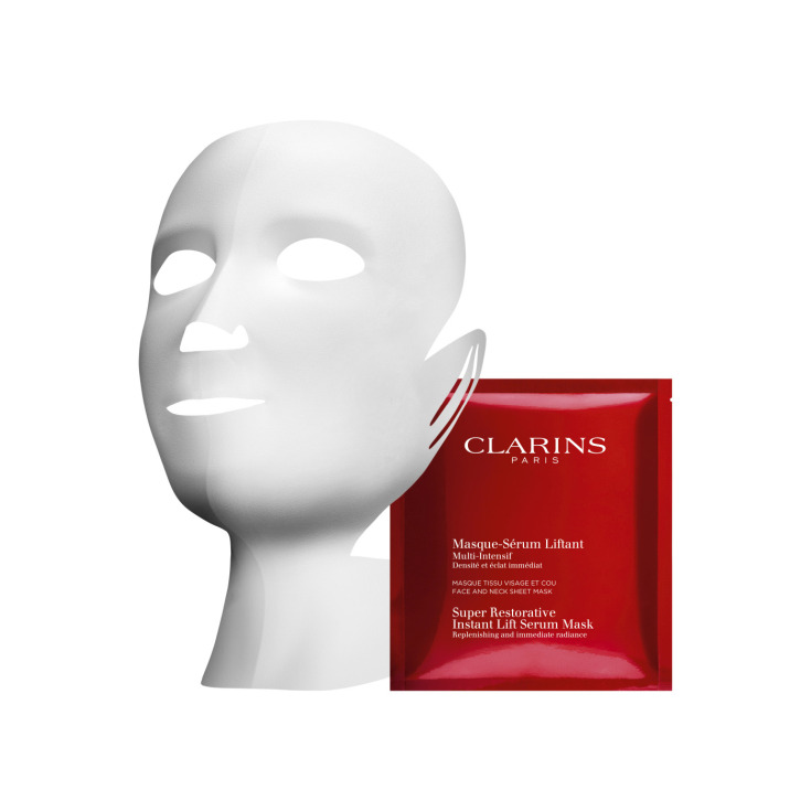 clarins mascarilla-serum en tela multi-intensive 1ud