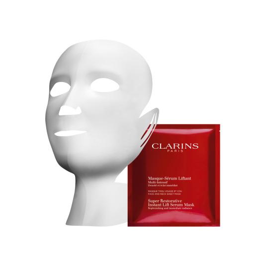 clarins multi-intensiva mascarilla sérum 1 unidad