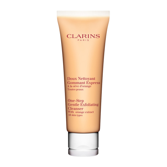 clarins express limpiadora exfoliante suave 125ml