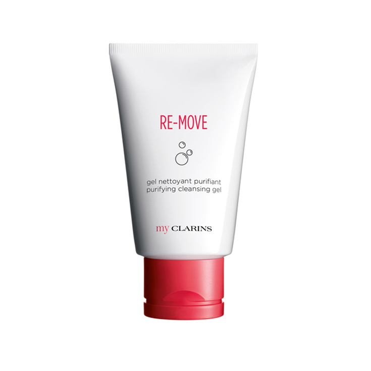 my clarins re-move gel limpiador espumoso 125ml