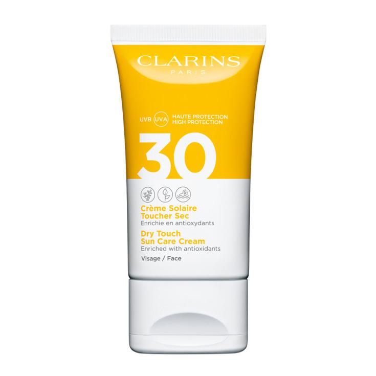 clarins protector solar facial tacto seco spf30 50ml