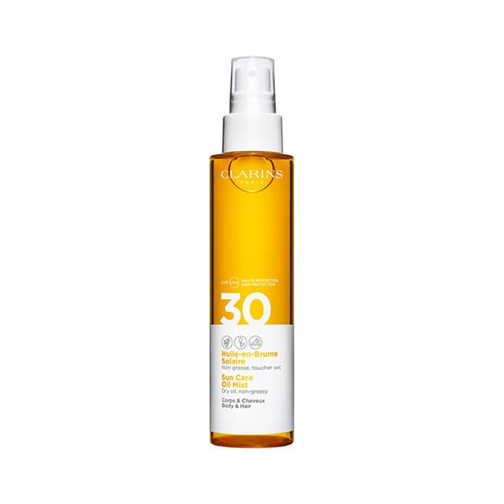 clarins aceite en bruma sola tactoseco spf30 150ml