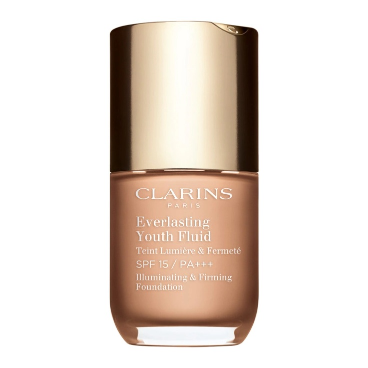 clarins everlasting youth fluid base de maquillaje
