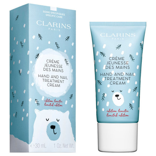 clarins clarins hello winter crema de manos 30ml ed. limitada