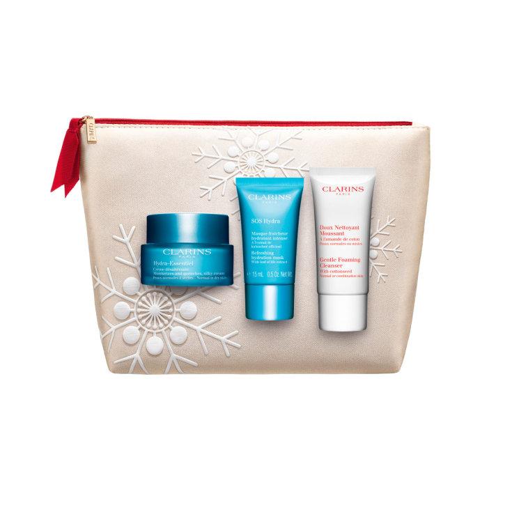 clarins hydra essentiel daily cream 50ml collection 2019 set