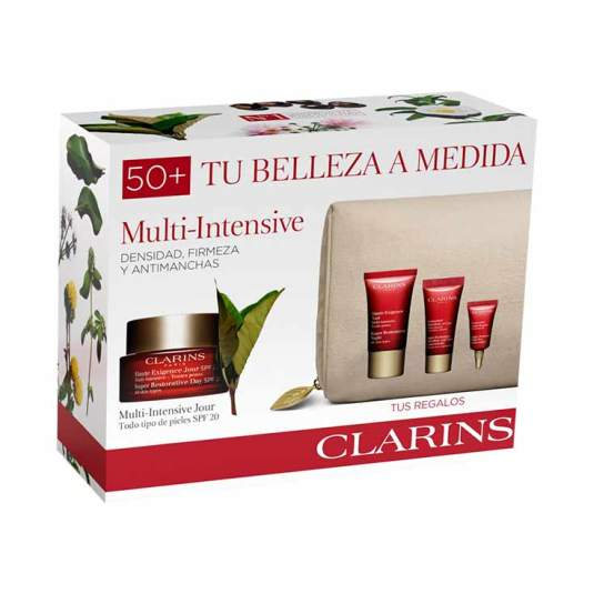 clarins experto multi-intensiva jour spf20 50ml set regalo