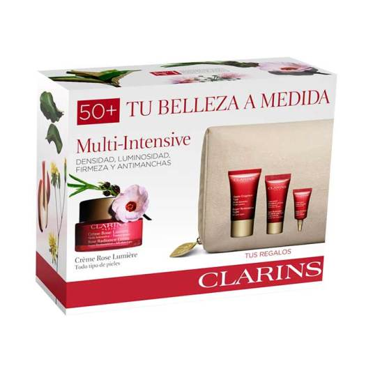 clarins experto multi-intensiva rose 50ml set regalo