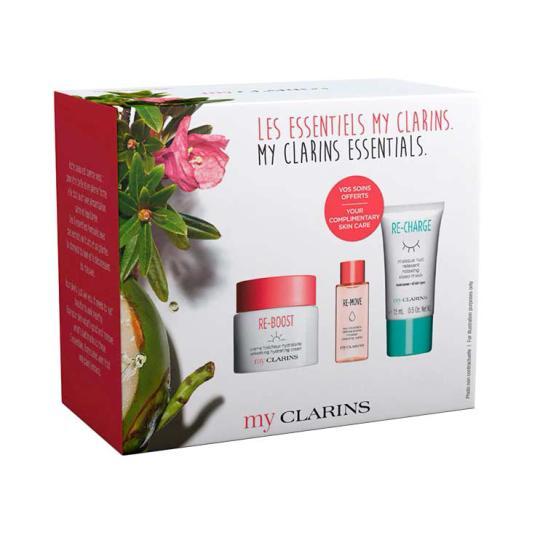 my clarins essentials re-boost crema 50ml set 3 piezas