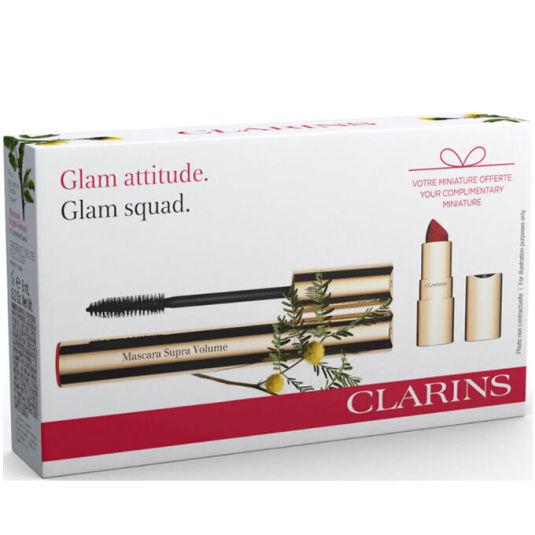 clarins mascara supreme set 2 piezas